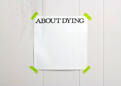 About Dying